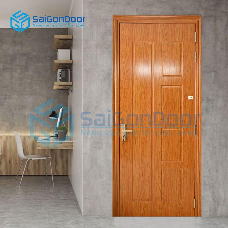 Cửa nhựa cao cấp phòng khách LX.141-LX2