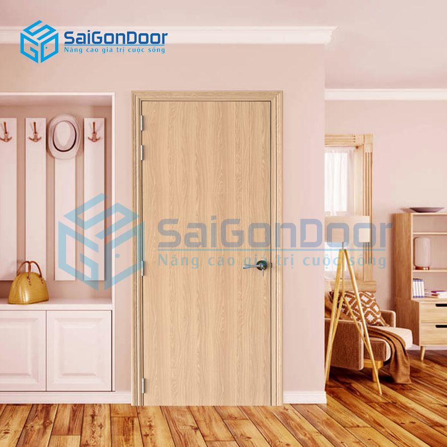 Cửa nhựa Composite cao cấp cho phòng ngủ SYB.100-B06