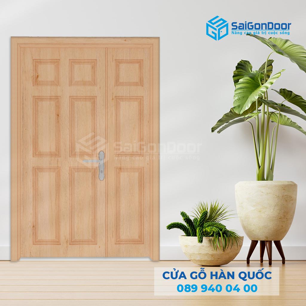 Cửa gỗ Hàn Quốc cao cấp được cung cấp bởi Sài Gòn Door