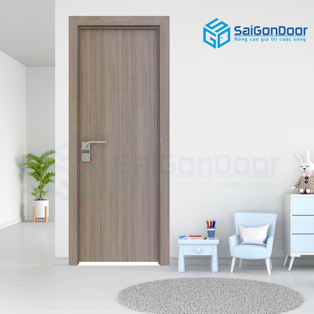 Cửa gỗ cao cấp đem lại không gian sang trọng cho căn phòng nhà bạn