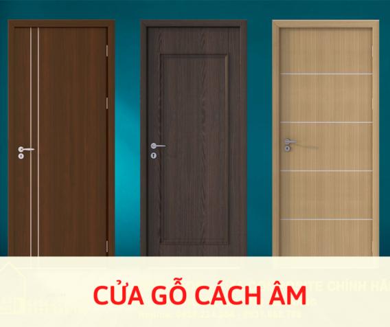 Thi công cửa gỗ cách âm quận Gò Vấp chuyên nghiệp, giá rẻ